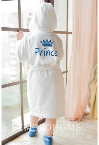 Дитячий іменний халат