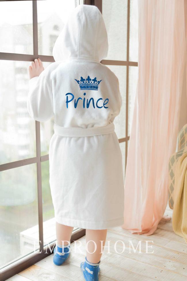 Дитячий іменний халат з якісної натуральної тканини