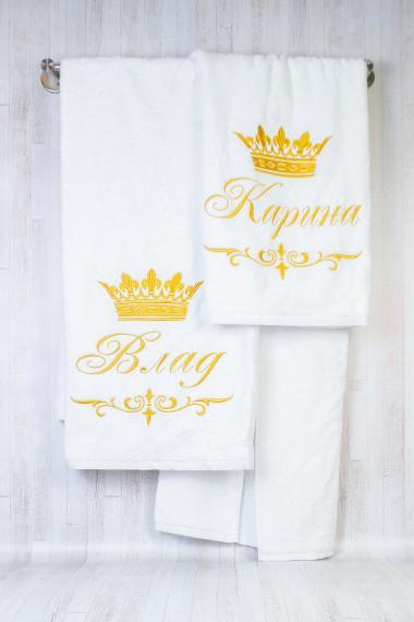 Подарочный набор полотенец для пары