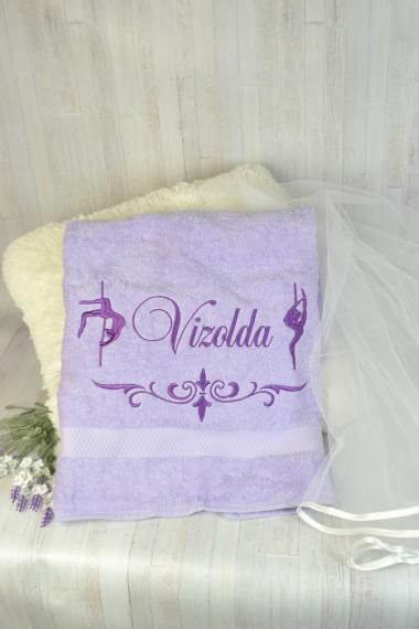 Полотенце с вышивкой на подарок