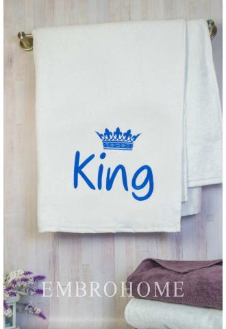 Рушник для лазні з короною